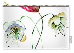 Original Summer Flowers Carry-all Pouch