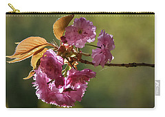 Ornamental Cherry Blossoms - Carry-all Pouch