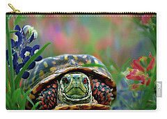 Ornate Box Turtle Carry-all Pouch