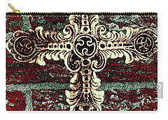 Ornate Cross 1 Carry-all Pouch