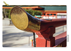 Ornate Details O Heian Jingu Shrine In Kyoto Carry-all Pouch
