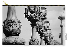 Ornate Paris Street Lamp Carry-all Pouch