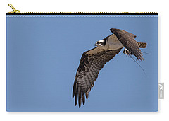 Carry-all Pouch featuring the photograph Osprey 2017-1 by Thomas Young