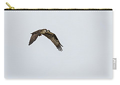 Carry-all Pouch featuring the photograph Osprey 2017-2 by Thomas Young