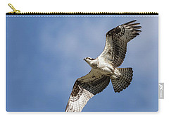 Carry-all Pouch featuring the photograph Osprey 2017-3 by Thomas Young
