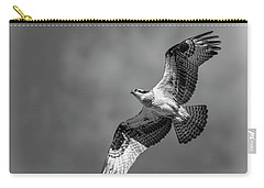 Carry-all Pouch featuring the photograph Osprey 2017-4 by Thomas Young