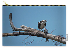Osprey And Fish Carry-all Pouch