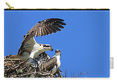 Osprey Chicks Ready To Fledge Carry-all Pouch