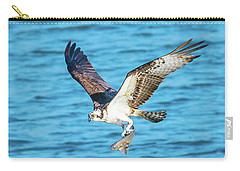 Osprey Fishing Success Carry-all Pouch by Jeff at JSJ Photography