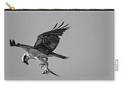 Osprey With Prey Carry-all Pouch