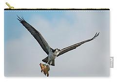Osprey With Rainbow Bass 1 Carry-all Pouch