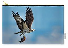 Osprey With Rainbow Bass 2 Carry-all Pouch