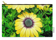 Osteospermum Serenity Blue Carry-all Pouch