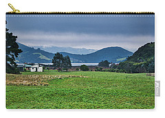 Carry-all Pouch featuring the photograph Otago Peninsula I - New Zealand by Steven Ralser