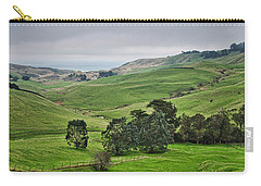 Carry-all Pouch featuring the photograph Otago Peninsula II - New Zealand by Steven Ralser