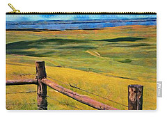 Other Side Of The Fence Carry-all Pouch by Jeff Kolker
