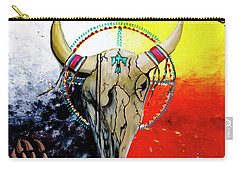 Ottawa Medicine Wheel Carry-all Pouch by Ayasha Loya