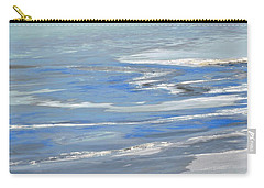 Ottawa River Abstract Carry-all Pouch by Stephanie Moore