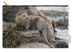 Otter Beside Loch Carry-all Pouch