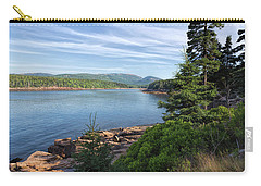 Carry-all Pouch featuring the photograph Otter Cove by John M Bailey