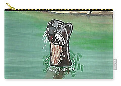 Otter In Amazon River Carry-all Pouch