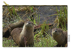 Otters Carry-all Pouch by Steve Stuller