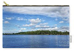 Oulujoki River In Oulu, Finland. Carry-all Pouch