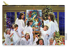 Our 2017 Christmas Angels Carry-all Pouch