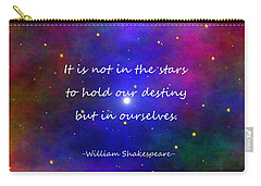 Our Destiny - Shakespeare Carry-all Pouch