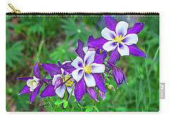 Our Gorgeous State Flower, Colorado Columbine  Carry-all Pouch