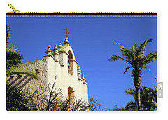 Carry-all Pouch featuring the photograph Our Lady Of Mount Carmel - Montecito by Art Block Collections