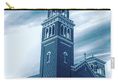 Our Lady Of Sorrows Under Wispy Skies Carry-all Pouch
