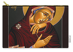 Our Lady Of Sorrows 028 Carry-all Pouch