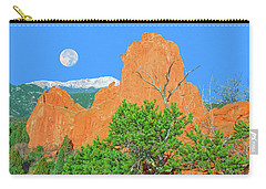 Our Majestic, Opalescent Colorado, Like No Other Place On Earth Carry-all Pouch by Bijan Pirnia