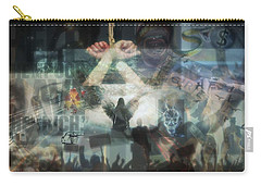 Our Monetary System  Carry-all Pouch by Eskemida Pictures