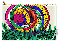 Our Own Colorful World IIi Carry-all Pouch by Angela L Walker