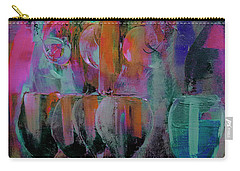 Our Pink Party For Her Cancer Survival For A Second Time Painting Carry-all Pouch