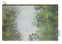 Carry-all Pouch featuring the painting Our Time Together by Raymond Doward