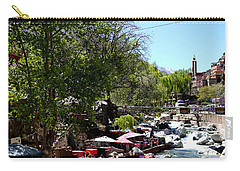 Carry-all Pouch featuring the photograph Ourika Valley 1 by Andrew Fare