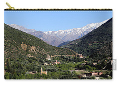Carry-all Pouch featuring the photograph Ourika Valley 2 by Andrew Fare