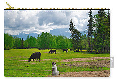 Out In The Pasture Carry-all Pouch