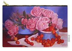 Carry-all Pouch featuring the painting Out Of The Box by Beatrice Cloake