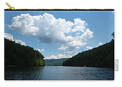 Carry-all Pouch featuring the photograph Out Of The Cove by Donald C Morgan