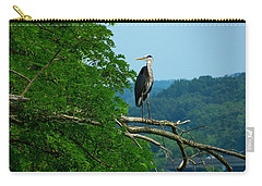Carry-all Pouch featuring the photograph Out On A Limb by Donald C Morgan