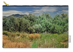 Out On The Mesa 1 Carry-all Pouch