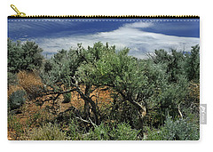 Out On The Mesa 3 Carry-all Pouch