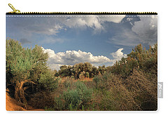 Out On The Mesa 4 Carry-all Pouch