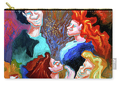 Carry-all Pouch featuring the painting Out On The Town by Genevieve Esson
