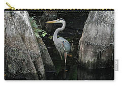 Out Standing In The Swamp Carry-all Pouch by Lamarre Labadie