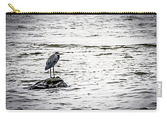 Out Standing On A Rock Carry-all Pouch by Ray Congrove